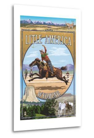 Little America, Wyoming - Montage