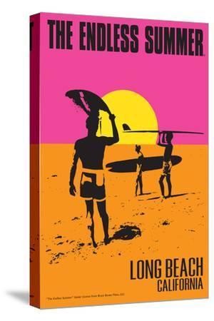 Long Beach, California - The Endless Summer - Original Movie Poster