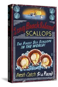 Long Beach Island, New Jersey - Scallops by Lantern Press