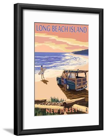 Long Beach Island, New Jersey - Woody on Beach