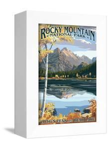 Long's Peak and Bear Lake - Rocky Mountain National Park by Lantern Press