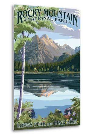 Longs Peak and Bear Lake Summer- Rocky Mountain National Park