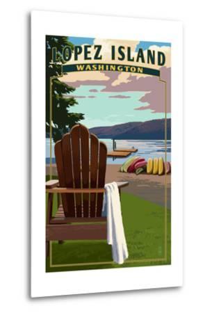 Lopez Island, Washington - Adirondack Chairs