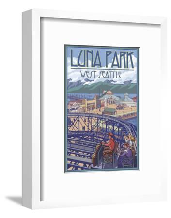 Luna Park Scene, Seattle, Washington