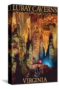 Luray Caverns, Virginia - Discovery by Lantern Press