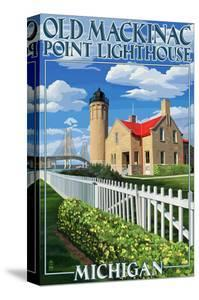 Mackinac Island, Michigan - Old Mackinac Lighthouse by Lantern Press