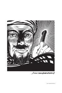Magician - John Van Hamersveld Poster Artwork by Lantern Press
