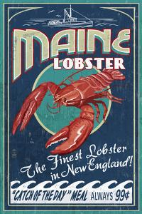 Maine Lobster by Lantern Press