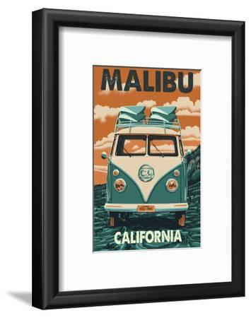 Malibu, California - VW Van