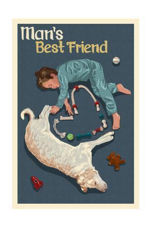 Man's Best Friend by Lantern Press