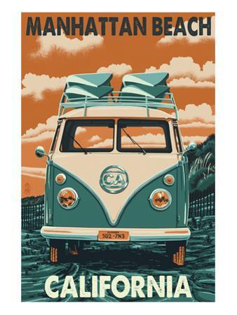 Manhattan Beach, California - VW Van