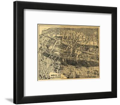 Maplewood, New Jersey - Panoramic Map