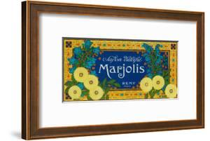 Marjolis Soap Label - Paris, France by Lantern Press