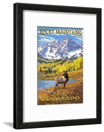 Maroon Bells - Rocky Mountain National Park