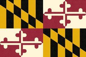 Maryland State Flag by Lantern Press