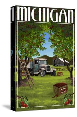 Michigan - Cherry Orchard Harvest