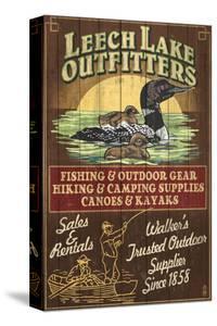 Minnesota - Leech Lake Outfitters Loon by Lantern Press