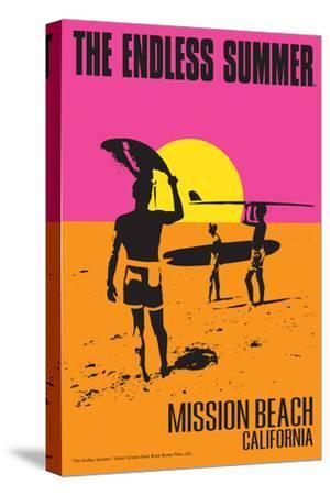 Mission Beach, California - the Endless Summer - Original Movie Poster