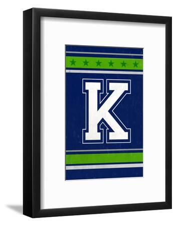 Monogram - Game Day - Blue and Green - K