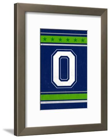 Monogram - Game Day - Blue and Green - O