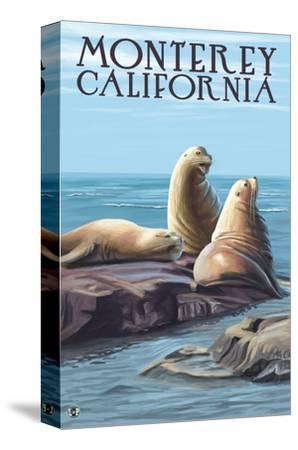 Monterey, California - Sea Lions