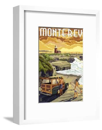 Monterey, California - Woody on Beach