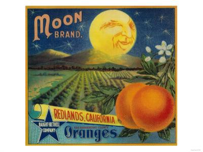 Moon Orange Label - Redlands, CA