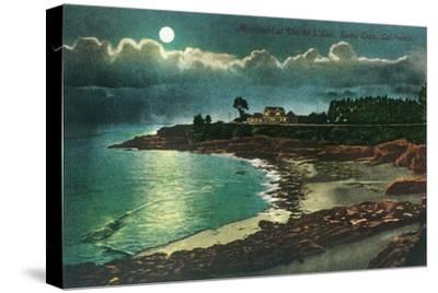 Moonlit view of the Vue de l'Eau - Santa Cruz, CA