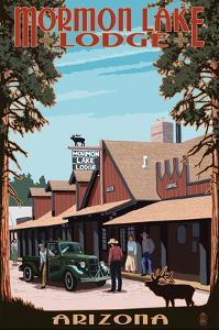 Mormon Lake Lodge, Arizona by Lantern Press