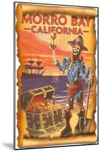 Morro Bay, CA - Pirate Plunder by Lantern Press