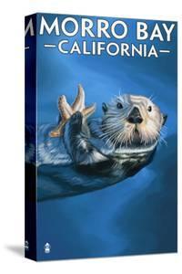 Morro Bay, CA - Sea Otter by Lantern Press