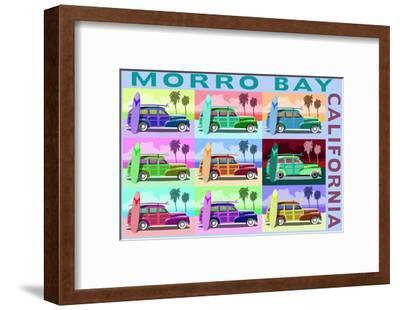 Morro Bay, California - Woody Pop Art