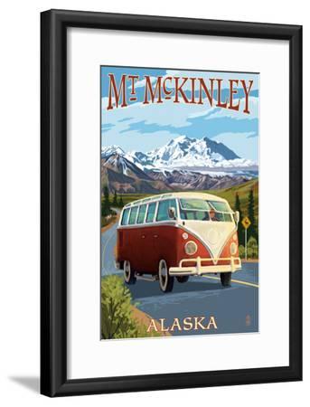 Mount McKinley, Alaska - VW Van
