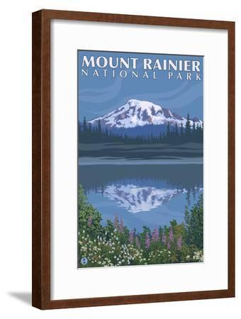 Mount Rainier, Reflection Lake
