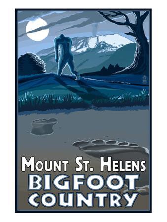 Mount St. Helens - Bigfoot Country