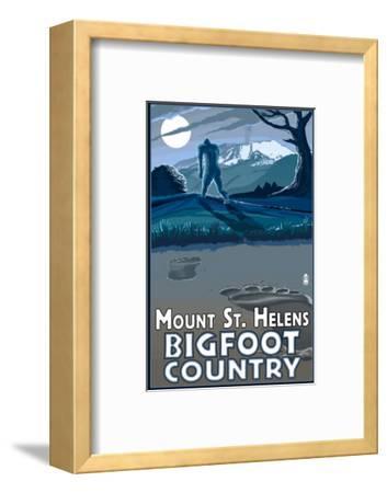 Mount St. Helens - Bigfoot Scene