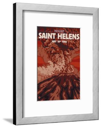 Mount St. Helens Eruption, Washington, May 18, 1980