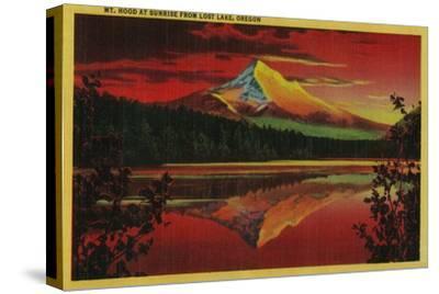 Mt. Hood at Sunrise from Lost Lake, Oregon - Mt. Hood, OR
