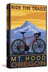 Mt. Hood, Oregon - Ride the Trials by Lantern Press