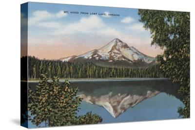 Mt. Hood, Oregon - View of Mountain from Lost Lake No.1