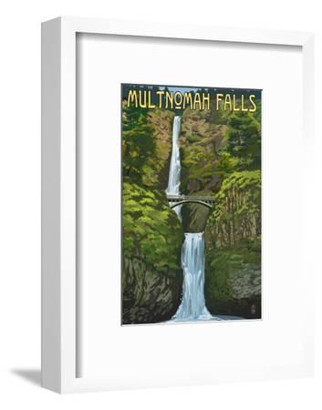 Multnomah Falls, Oregon - Summer View