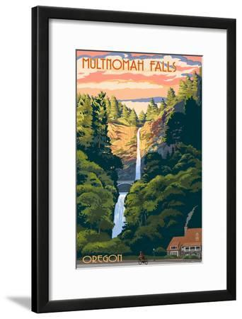 Multnomah Falls, Oregon - Sunset