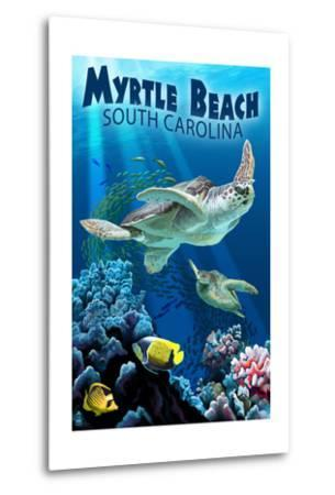 Myrtle Beach, South Carolina - Sea Turtles Swimming