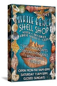 Myrtle Beach, South Carolina - Shell Shop by Lantern Press