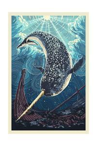Narwhal by Lantern Press