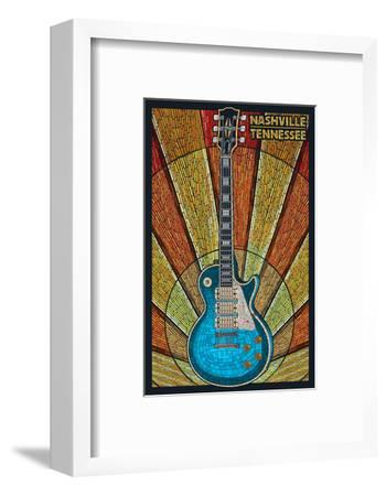 Nashville, Tennessee - Guitar Mosaic