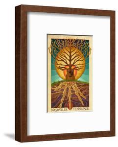 Nashville, Tennessee - Guitar Tree by Lantern Press
