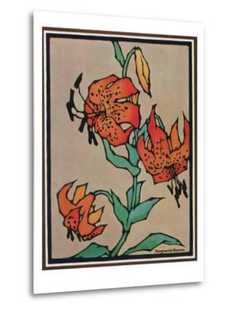 Nature Magazine - Sketch of Tiger Lilies, c.1930