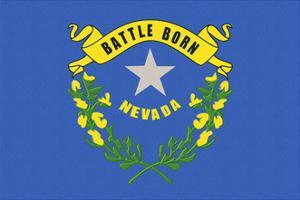 Nevada State Flag by Lantern Press