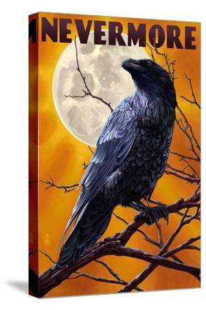 Nevermore - Raven and Moon